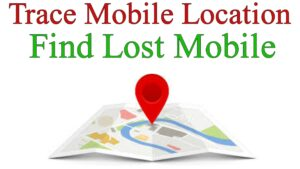 how to track lost mobile