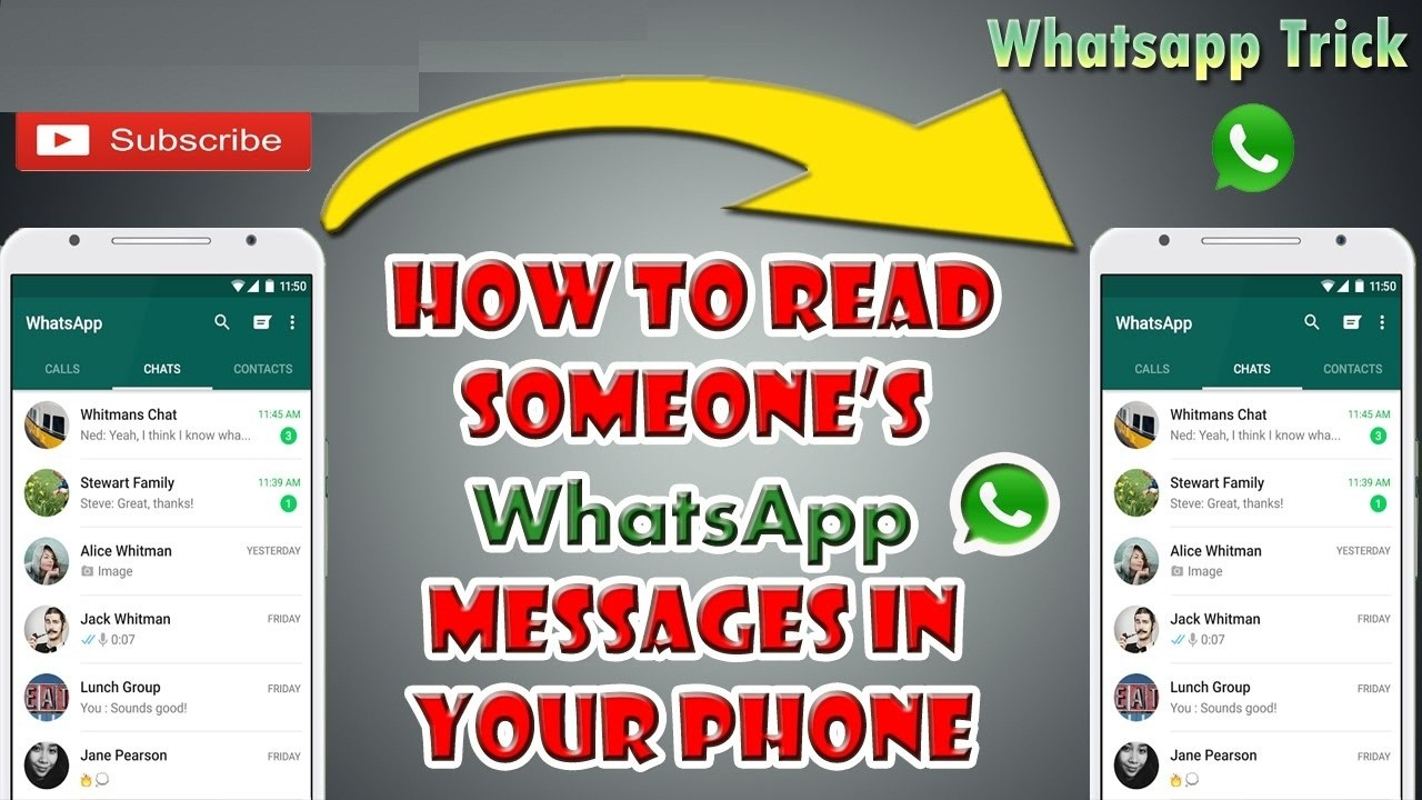 how to read whatsapp message of your Girlfriend