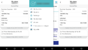 how_to_check_reliance_Jio_plan_validity_balance_myjio_app