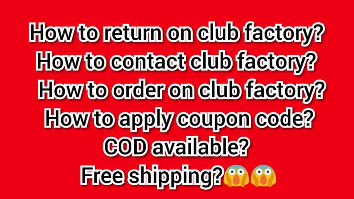 club factory customer care