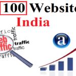 top 100 website in india